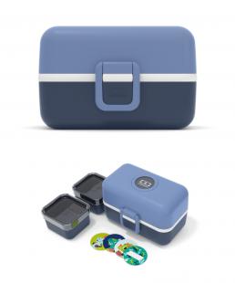 Caja Monbento Tresor infantil Azul Infinity