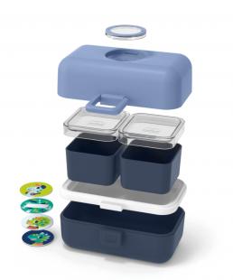 Comprar Caja Monbento Tresor infantil Azul Infinity