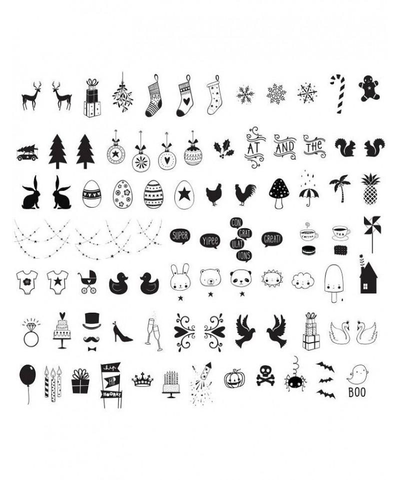 Símbolos para celebraciones para Lightbox