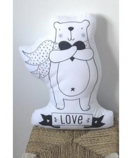 COJÍN BEAR LOVE