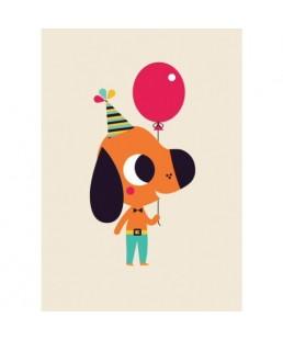 Postal Dog by Tiago Americo