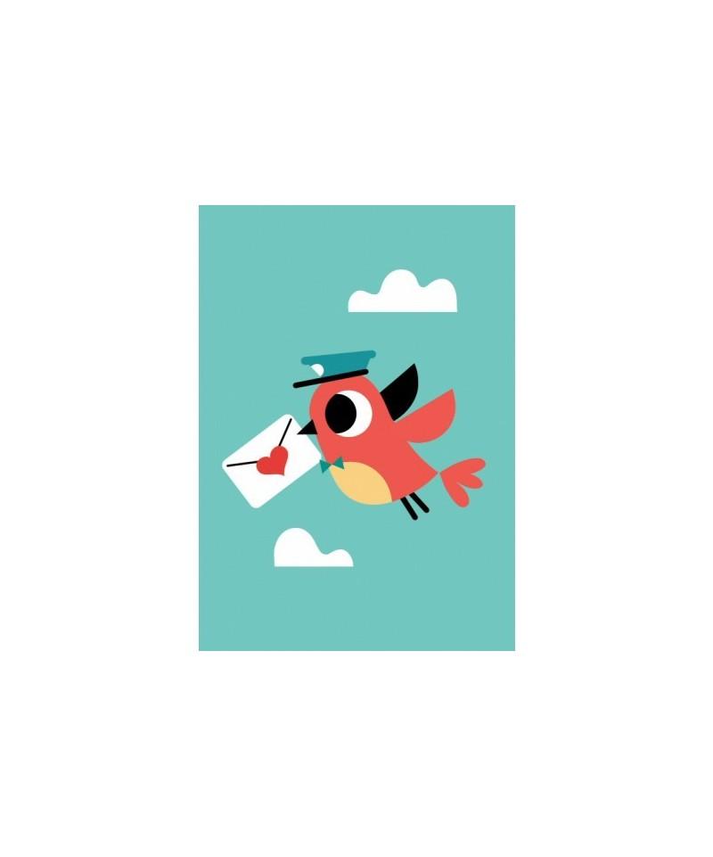 Postal Pájaro by Tiago Americo