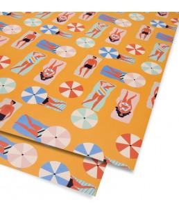 Pliego de papel Beach de Naomi Wilkinson