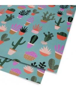 Pliego de papel Cactus de Naomi Wilkinson