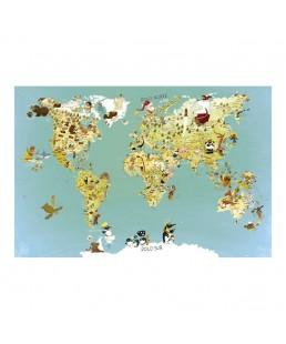 mapa mundo magnetico vilac