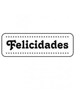 SELLO FELICIDADES