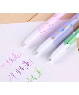 Set 10 Boligrafos Colores Animales Kawaii