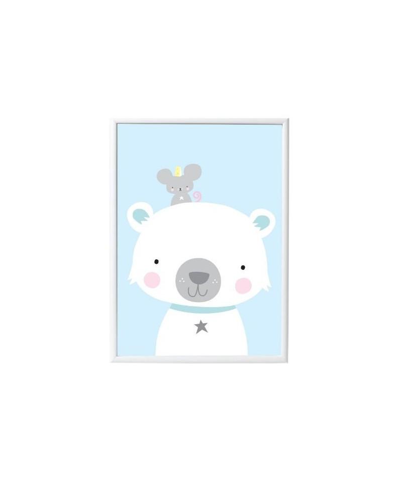 POSTER POLAR BEAR & CO LOVELY