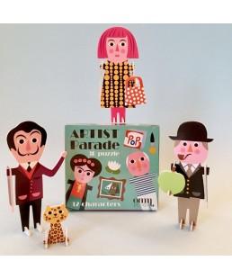 ARTIST PUZZLE 3 D PARADE