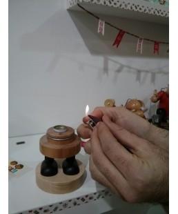 PAPA NOEL SENTADO (incensario)