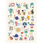 Lámina ABC de Helen Dardik para Petit Monkey