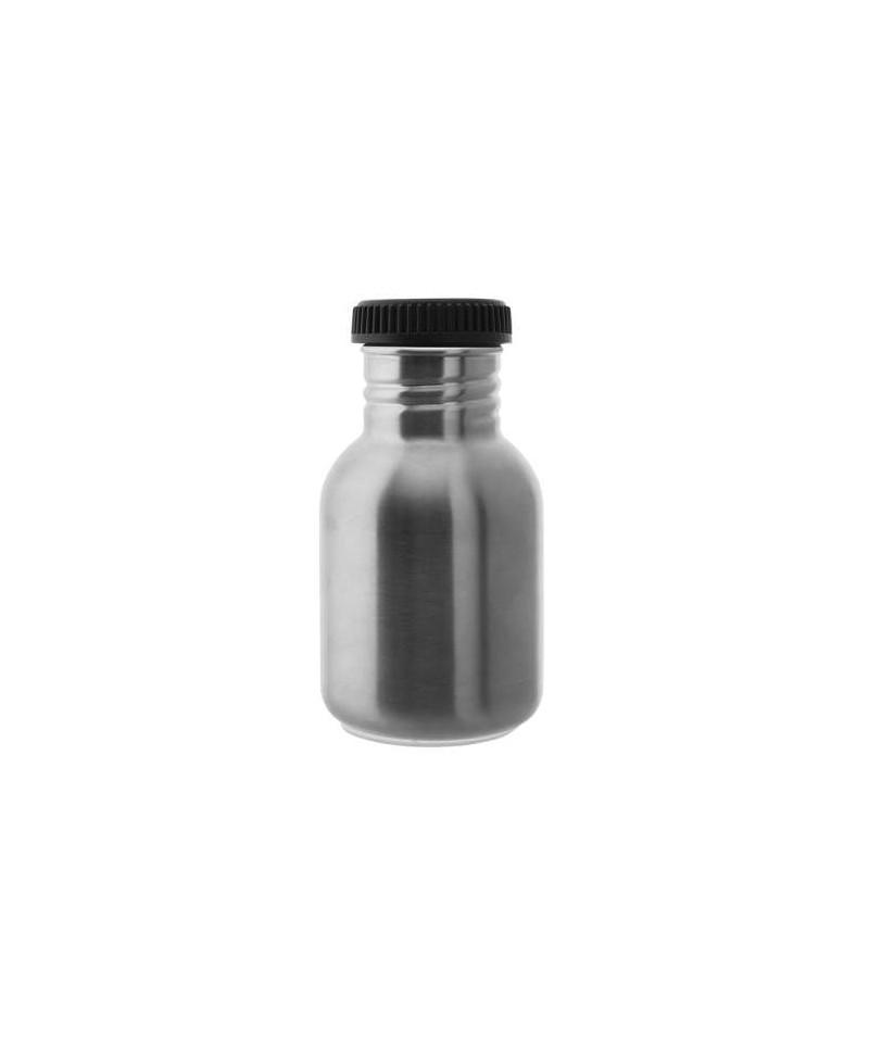 Botella 350 ml Laken Tapón Negro de acero inoxidable