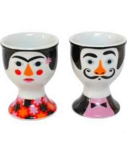 EGGS CUPS KAHLO DALÍ