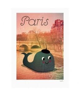 WHALE IN PARIS