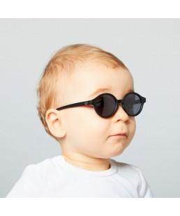 Gafas de sol bebé Black Izipizi 0 -12 meses