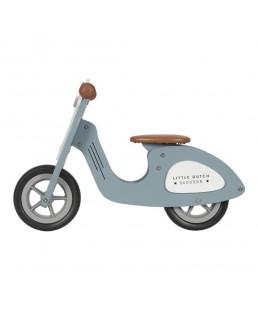 Moto Azul de Madera Little Dutch