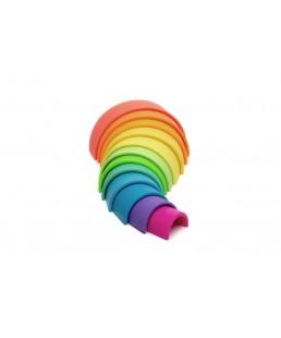 Arcoiris de Silicona  12 Colores  Neón Dëna
