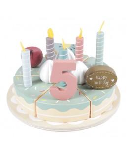 Pastel de cumpleaños  XL 26 piezas de Little Dutch