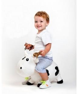 Comprar Vaca Kiddzfarm Blanca Saltarina