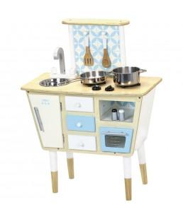 Cocina  madera Vintage juguete Vilac