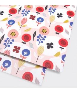 Pliego de papel Happy Garden