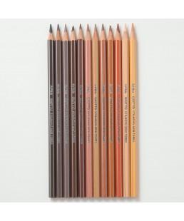 Lote Colores de la Piel lápices color carne