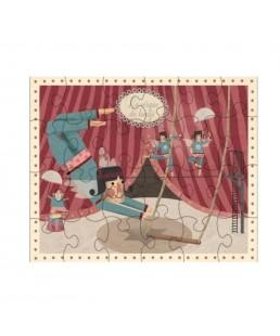Puzzle Equilibristas de Circus de Londji 24 piezas
