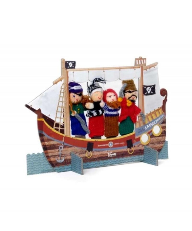 comprar Marionetas de dedo Piratas de Londji