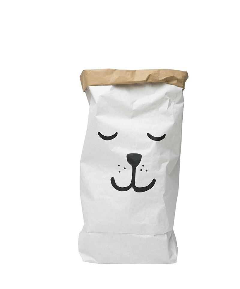 PAPER BAG SLEEPING BEAR