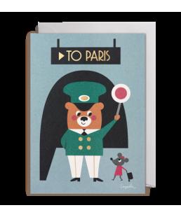TARJETA TRIP TO PARIS