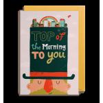 TARJETA TOP OF THE MORNING