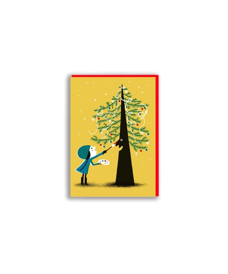 FELICITACIÓN TREE PAINTING