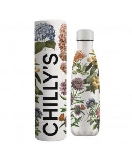 Botellas Chillys Jardín Botánica