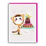 TARJETA BIRTHDAY CAKE