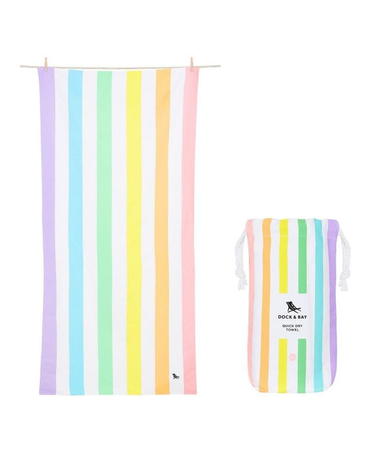 Toallas Dock & Bay Summer Rainbow