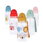 Botellas Tutete Plástico Pajita
